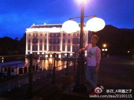 ZE:A weibo