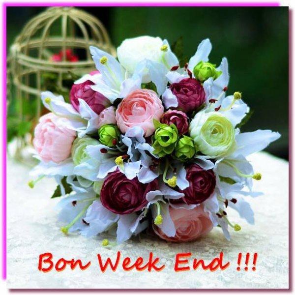 bonne week end a tout le monde