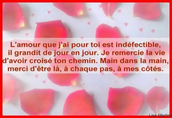 L'amour ❤️❤️❤️