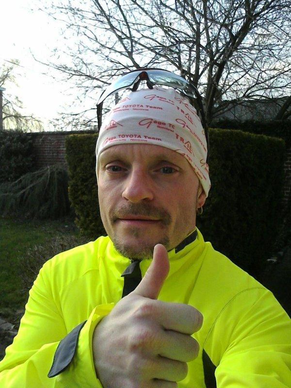 Entraînement jogging du jeudi