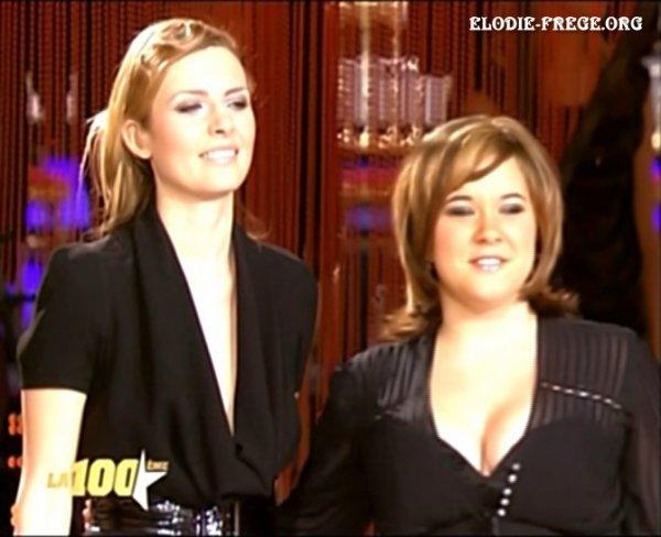 ELODIE FREGE INVITEE SUR LE PLATEAU DE LA STAR ACADEMY SUR TF1 , LE 5 JANVIER 2007 ( 5 )