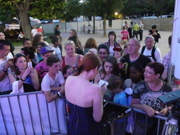 Elodie Frégé - Festival Montereau Confluences, le 7 Juin 2014