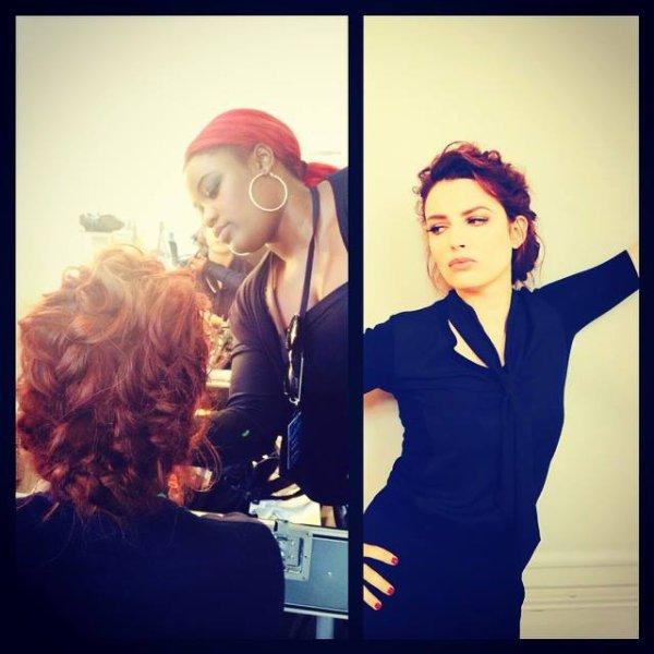 ELODIE FREGE JURY DE LA NOUVELLE STAR 3e ETAPE A BORDEAUX ! LE 14 SEPTEMBRE 2014