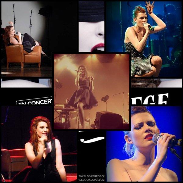 Samedi 4 Oct 2014 -Elodie en concert à Bois-d'Arcy - Yvelines (78) - Salle de spectacle La Grange De La Tremblaye ( 2 )