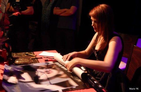 Samedi 4 Oct 2014 -Elodie en concert à Bois-d'Arcy - Yvelines (78) - Salle de spectacle La Grange De La Tremblaye ( 3 )