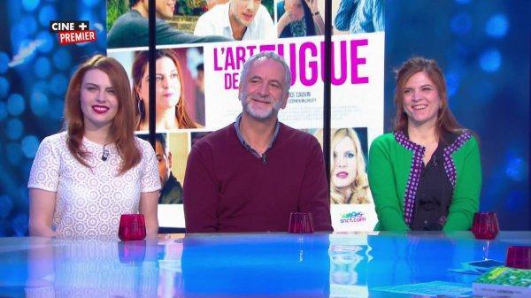 """ELODIE FREGE SUR PARIS MATCH , LE 12 FÉVRIER 2015 ET SA PROMO POUR LE FILM """"  l'art de la fugue """" SUR CINE + PREMIER LE 13 FÉVRIER 2015"""