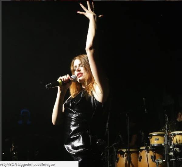 Nouvelle Vague en concert au Babylon à Istambul en Turquie le 15 octobre 2016