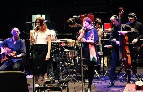 """elodie frege et nouvelle vague sur france inter le 9 novembre 2016 et la comedie musicale """" un été 44 """"au comedia a paris le 9 novembre 2016"""