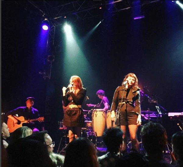 Concert du 16 novembre 2016 à Dublin au Button Factory en Irlande et l' interview de elodie frégé et nouvelle vague le 18 novembre 2016
