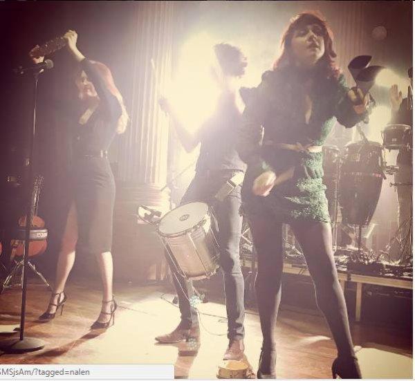 élodie frégé en concert a utrecht aux Pays Bas le 18 novembre 2016 et concert a Stockholm en Suède le 19 novembre 2016