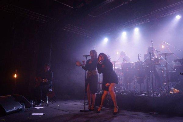 Elodie frégé en concert a Berlin en Allemagne le 23 novembre 2016 ( 1 )