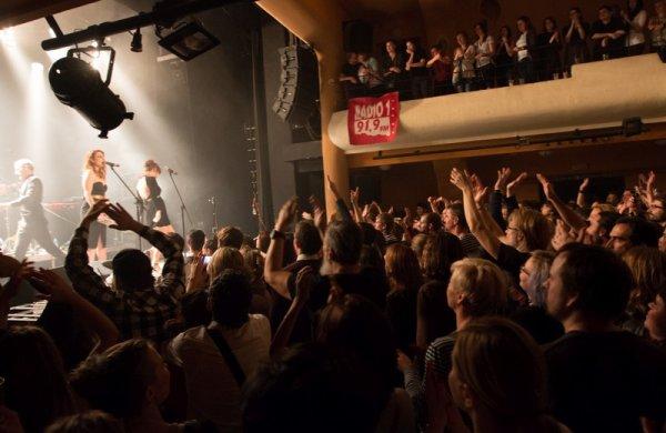 concert élodie frégé a Prague en république tchèque le 25 novembre 2016