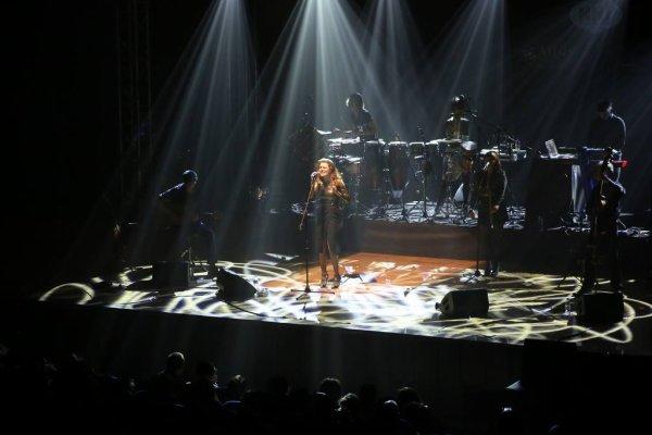 le concert a Ankara en Turquie le 16 décembre 2016