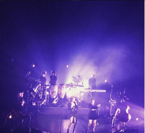 concert élodie frégé a adelaide en Australie le 18 janvier 2017 ( 2e date en Australie )