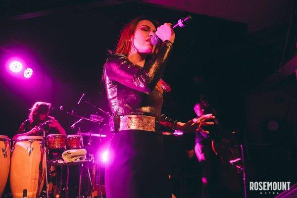 Le concert a Perth le 22 janvier 2017 ( 5e date en Australie )