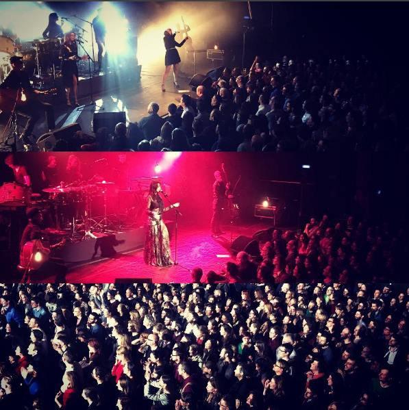 Concert au Botanique à Bruxelles le 23 février 2017
