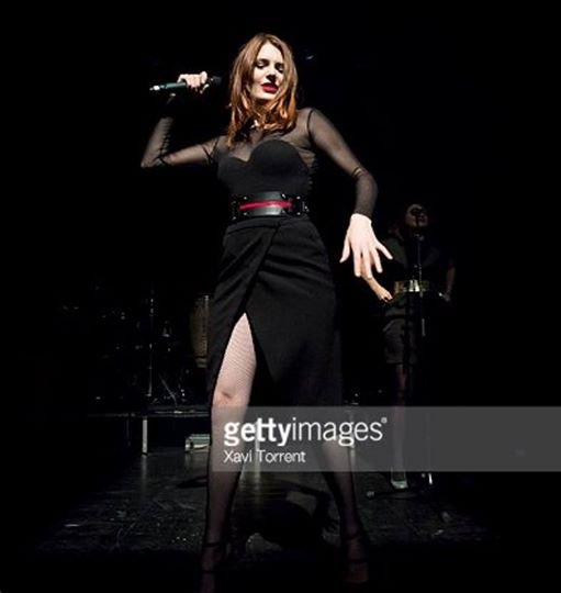 concert élodie frégé a Barcelone en Espagne le 3 mars 2017