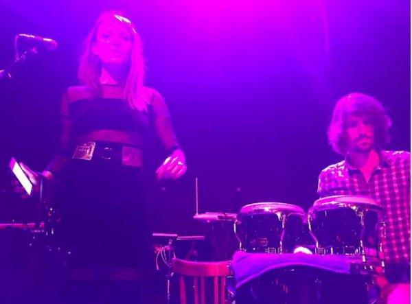 Concert Elodie frégé aux usa a Brooklyn le 23 mars 2017