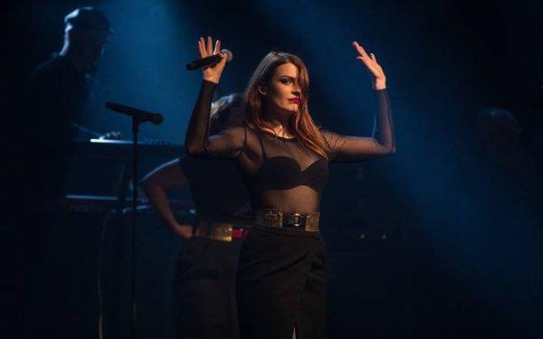 Concert Elodie frégé en Estonie le 20 avril 2017 et le concert en Lituanie le 21 avril 2017 ( 1 )