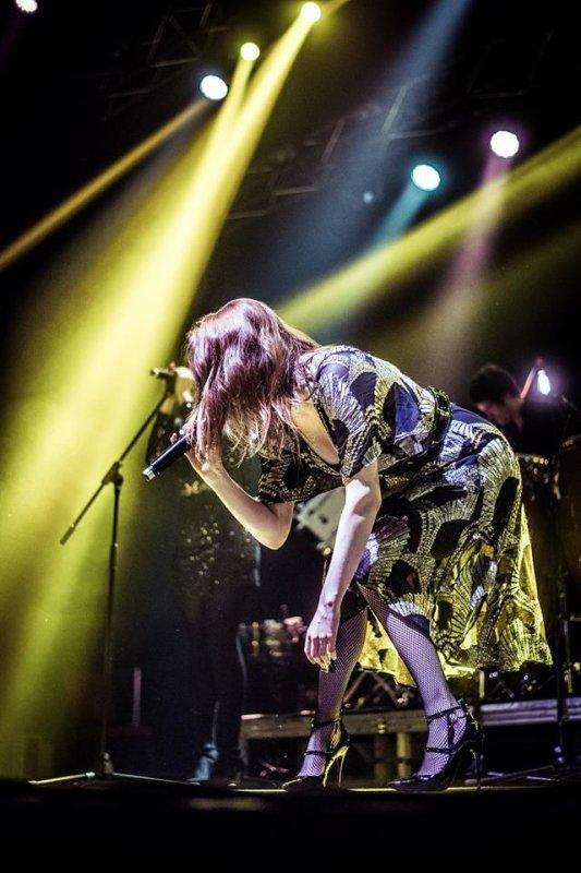Concert Elodie frégé en Lituanie le 21 avril 2017 ( 2 )