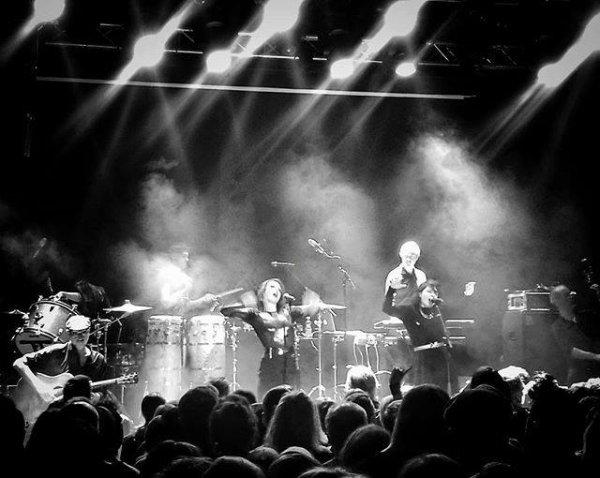 Concert Elodie frégé a Helsinki en Finlande le 23 avril 2017