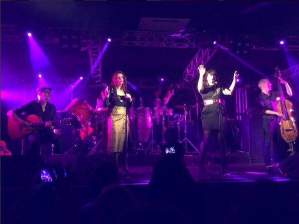 Concert élodie frégé a Saint Petersbourg en Russie le 24 avril 2017