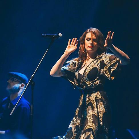 Concert Elodie frégé a Moscou en Russie le 25 avril 2017