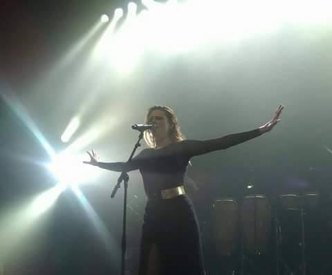 Concert Elodie frégé a Strasbourg en France le 17 mai 2017 ( 2 )