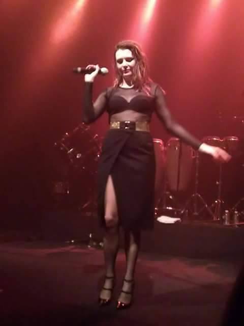 Concert Elodie frégé a Strasbourg en France le 17 mai 2017 ( 3 )