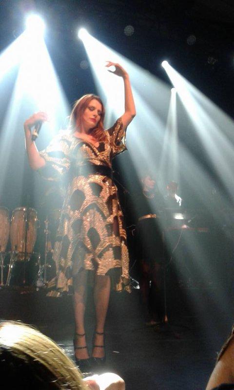 Concert Elodie frégé a Paris en France le 18 mai 2017