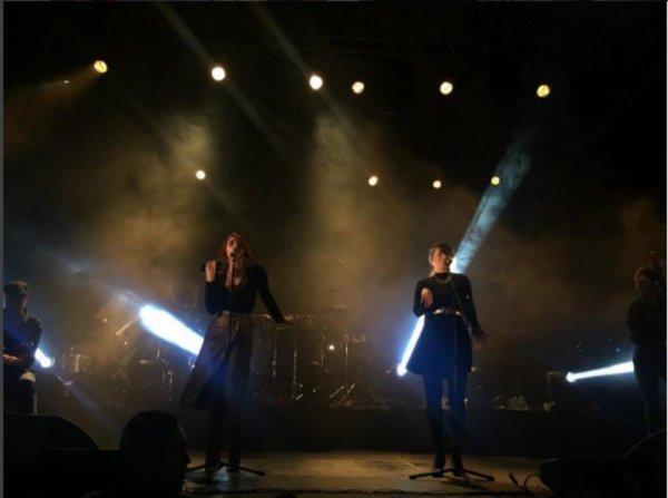 concert élodie frégé au modernopicnic à Botoga en Colombie le 3 juin 2017.