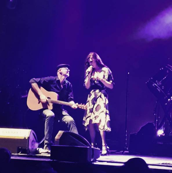 Concert Elodie frégé au festival du cabaret frappé a Grenoble en France le 16 juillet 2017 ( 1 )