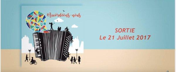 """Elodie frege dans l'album """" accordéons nous """""""