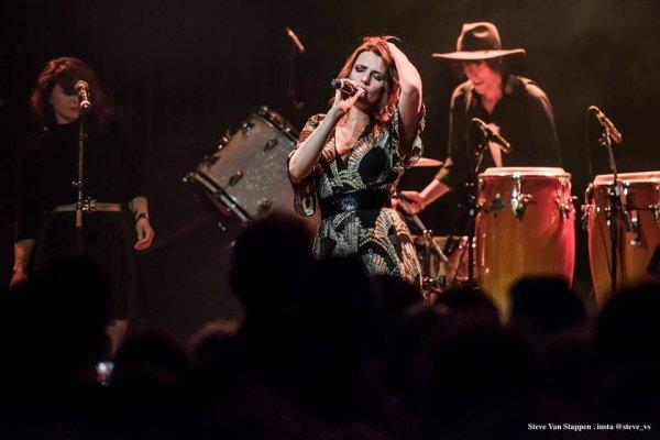 Concert de Elodie Frégé le 6 août 2017 à Bruxelles en Belgique ( 1 )