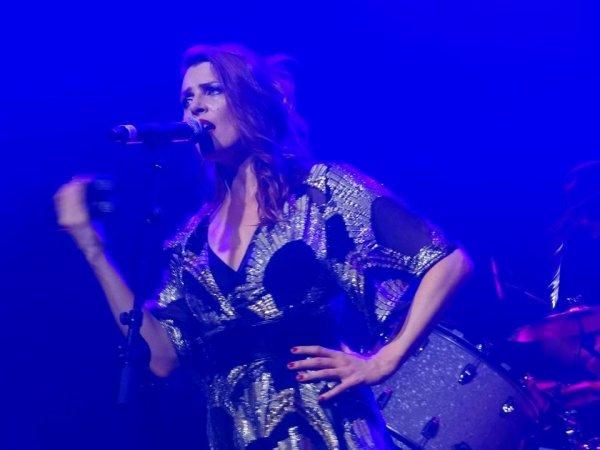 Concert de Elodie Frégé le 6 août 2017 à Bruxelles en Belgique ( 4 et fin )