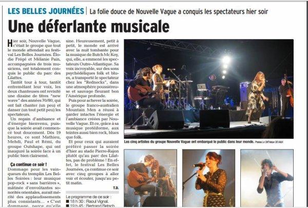 Concert Elodie frégé a Bourgoin-Jallieu en France le 8 septembre 2017 ( 1 )