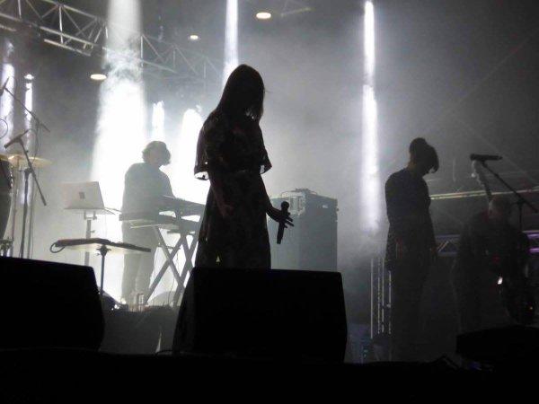 Concert Elodie frégé a Bourgoin-Jallieu en France le 8 septembre 2017 ( 2 )