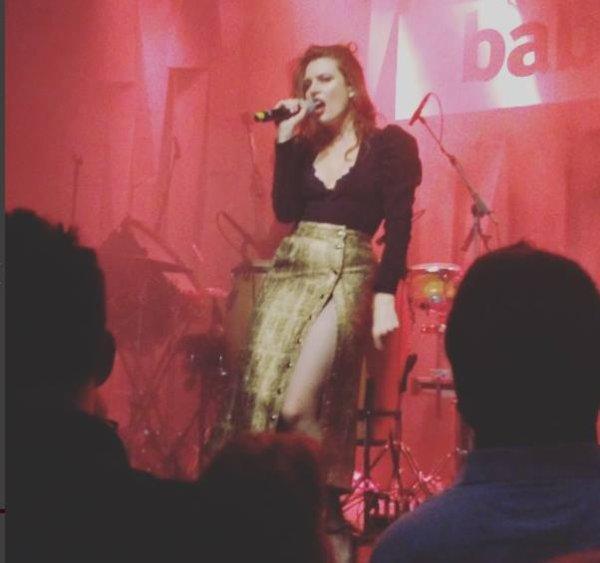 concert Elodie frégé au Babylon à Istanbul en Turquie les 21 et 22 septembre 2017 ( 1 )