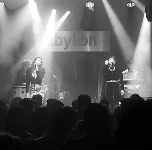 concert Elodie frégé au Babylon à Istanbul en Turquie les 21 et 22 septembre 2017 ( 2 )