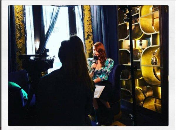 Elodie Frégé sur la chaîne ellegirltv le 13 octobre 2017 ( 1 )