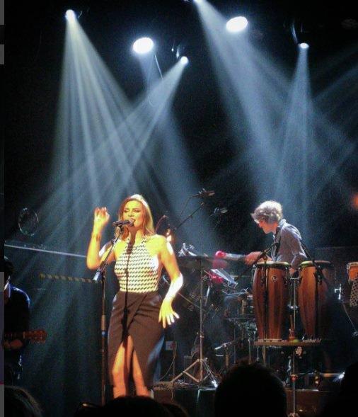 Elodie Frégé en concert aux Pays Bas les 12 , 13 , 14 et 15 octobre 2017 ( 4e et dernière partie )