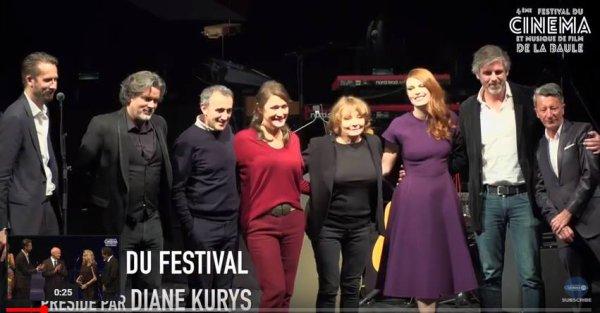 Elodie Frege jury au festival du cinéma et musique de film de La Baule novembre 2017 ( 4 et fin )