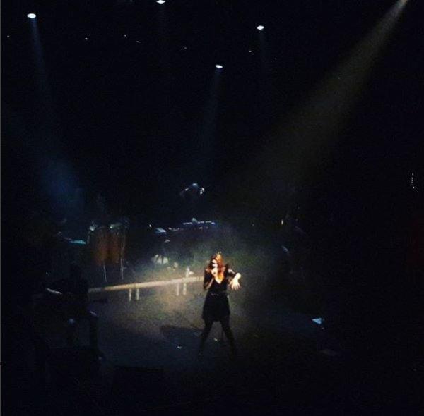 Elodie Frege en concert a Athènes en Grèce le 2 décembre 2017 ( 2 et fin )
