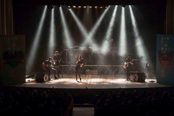 Concert Elodie Frege a Salerne en Italie le 9 décembre 2017