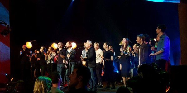 Concert au théâtre du Palace a Paris UrgenceTchetchenie le 11 décembre 2017 ( 2 )