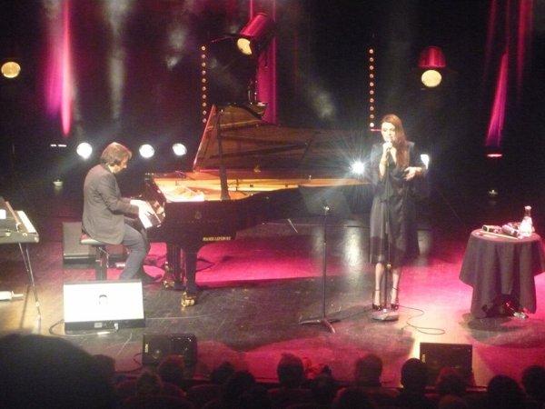Concert Elodie Frégé et André Manoukian a Vierzon le 19 janvier 2018 ( 1 )