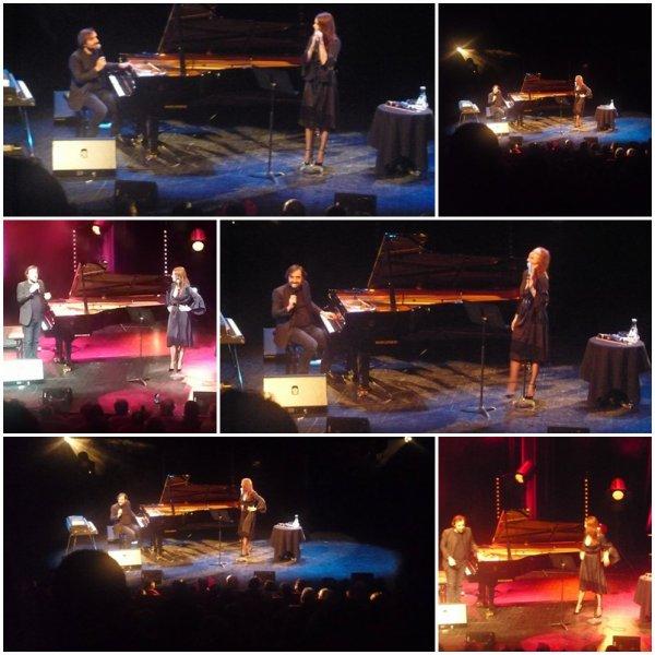 Concert Elodie Frégé et André Manoukian a Vierzon le 19 janvier 2018 ( 2 )