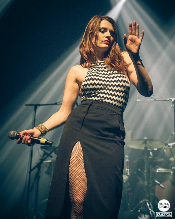 Concert Elodie Frégé a Mérignac en France ( 33 ) le 1er février 2018