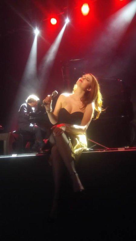 Concert Elodie Frégé a Blois le 14 avril 2018 ( 2 )
