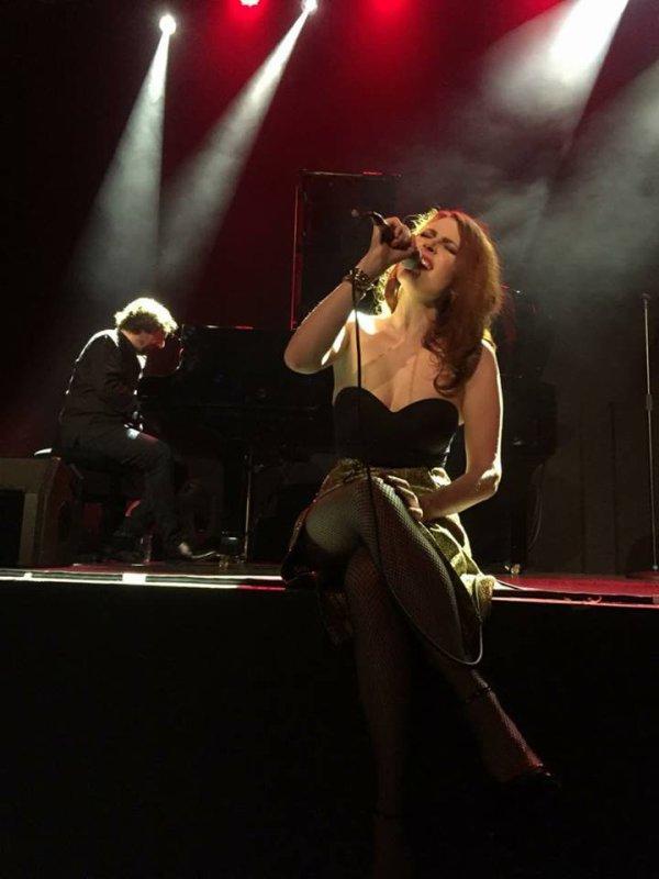 Concert Elodie Frégé a Blois le 14 avril 2018 ( 3 )
